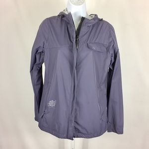 Paradox Womens Jacket Hooded Size Small Gray